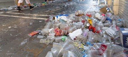 Problema de basura sin Reciclaje
