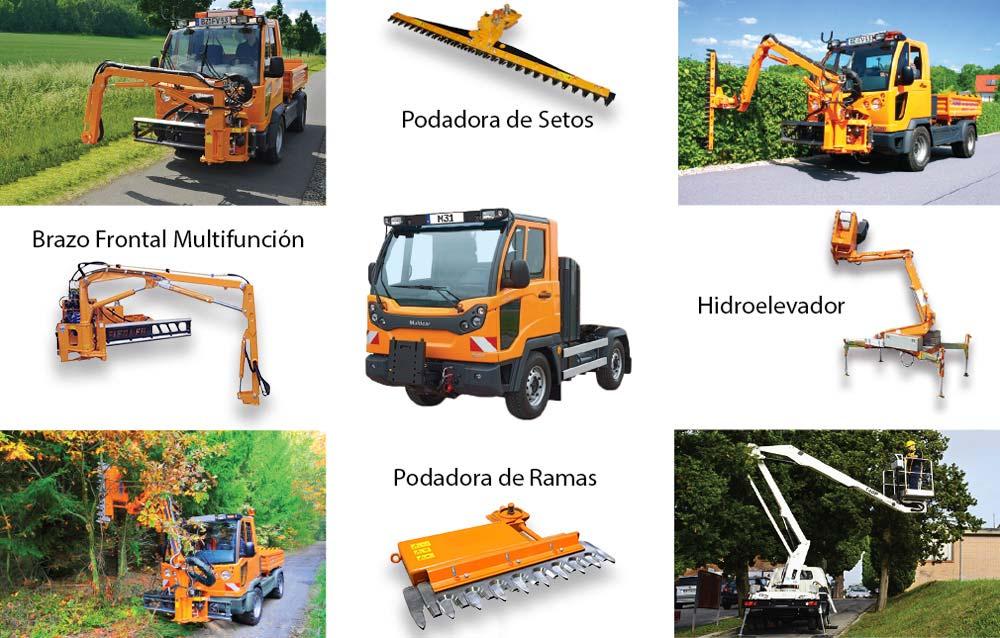 Camión Multipropósito Multicar