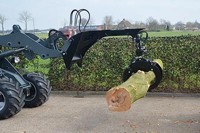 Solución Mantención de Arbustos y Arbolado - EAX - Brazo para troncos