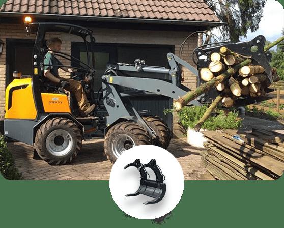 Solución Mantención de Arbustos y Arbolado - EAX - Garra horizontal