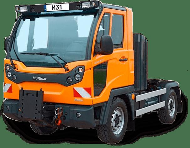 Solución Mantención de Arbustos y Arbolado - EAX - Camión Multipropósito Multicar