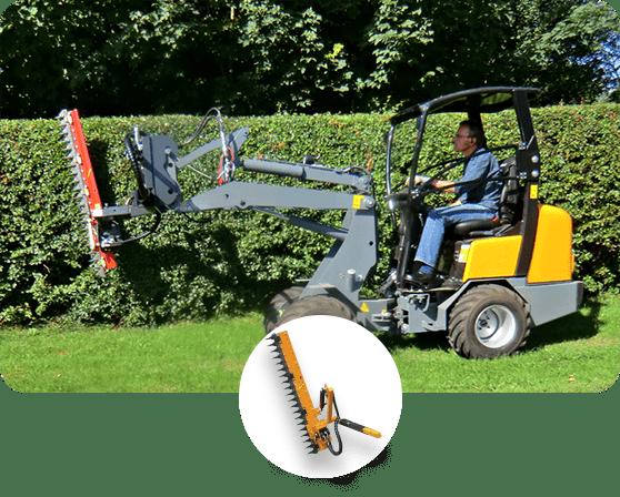 Solución Mantención de Arbustos y Arbolado - EAX - Podadora de Setos