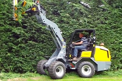 Solución Mantención de Arbustos y Arbolado - EAX - Podadora de Ramas