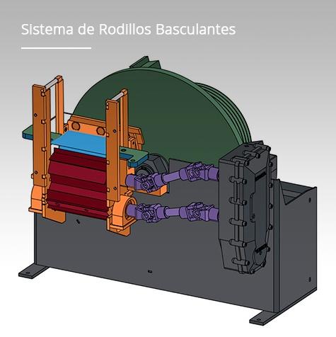 Sistema de rodillos basculantes - eax