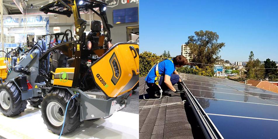 Soluciones EAX Electromovilidad y Energía