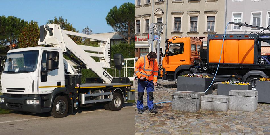 Equipos para el Mantenimiento Urbano - EAX