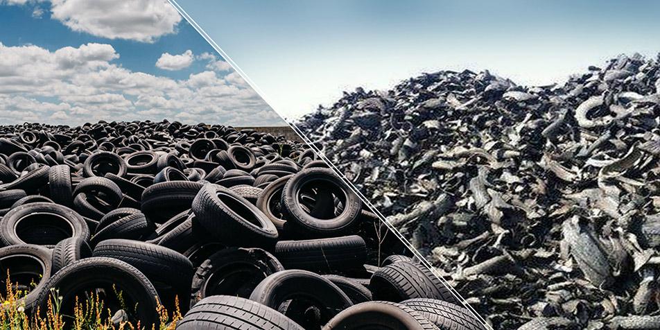 Planta de Tratamiento de Neumáticos